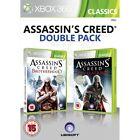 Xbox 360 Assassins Creed Brotherhood and Assassin VideoGames