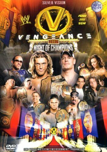 WWE Night of Champions Vengeance 2007 DVD orig WWF Wrestling (lim ed)
