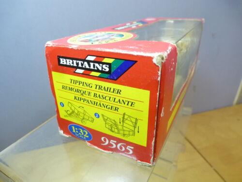 "BRITAINS MODEL No.9565 TIPPING TRAILER    /"" EX SHOP STOCK/""     MIB"