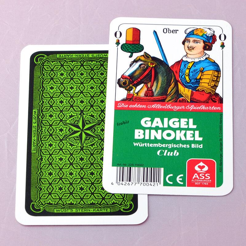 À Partir De  pièce Gaigel Pinochle Cartes Jeux Württembergisches Image, Jeux Frobis