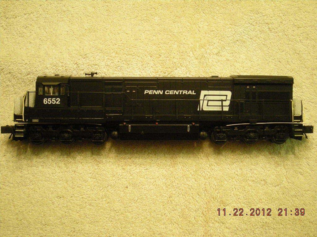 48193 Penn Central u33c Motor Diesel Nuevo En Caja