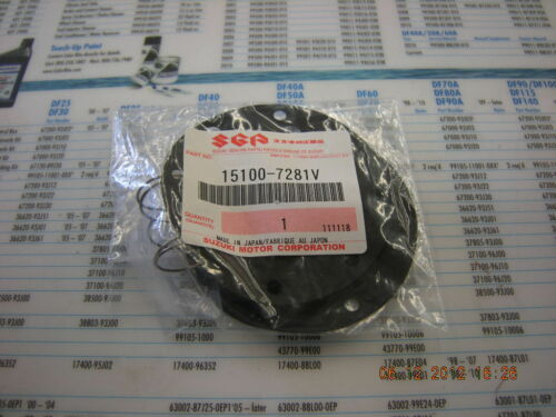 Suzuki Outboard Two Stroke Fuel Pump Diaphram 15100-7281V