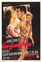 Poster : Movie Repro: Giganten (giant) - 6192 Rp83 M