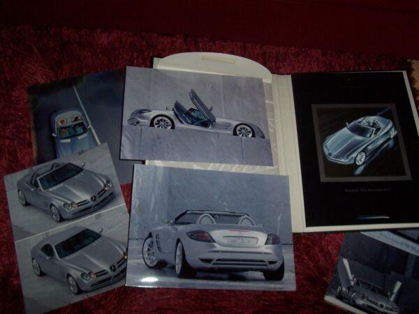 Adaptable Catalogue Info Presse / Brochure Press Kit Mercedes Benz Roadster Slr 1999 //