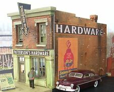 O On3 On30 Scale Gauge structure Building Kit Downtown Deco Pattersons Hardware