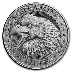 2-oz-Silver-High-Relief-Round-Screaming-American-Eagle-SKU-177666
