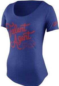 Authentic Nike Buffalo Bills Women s Tri Blend Talent Agent Jersey ... 93f3068247