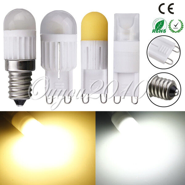 3W 5W G9 E14 Dimmable LED Mini Ceramic Capsule Light Bulbs Energy Saving AC220V