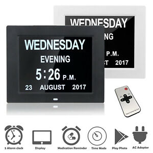 Digital-Day-Clock-LED-Calendar-Dementia-Alarm-Time-Date-Month-Year-Memory-Loss