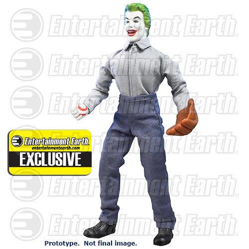 "PRISON SOFTBALL JOKER 1966 Batman TV Series 8/"" Retro Mego Action Figures Toy Co."