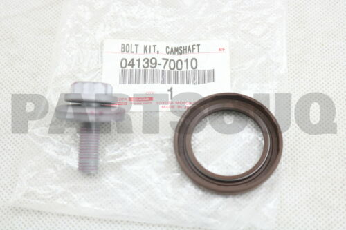 0413970010 Genuine Toyota BOLT KIT CAMSHAFT TIMING PULLEY 04139-70010