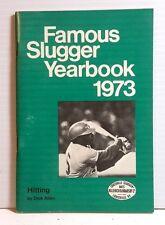 Original 1973 Louisville Slugger Famous Slugger Yearbook- 64 Pages (T-1072)
