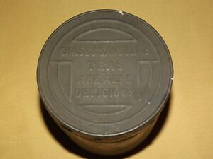 VINTAGE-CHASE-amp-SANBORN-039-S-TEAS-ARE-ALSO-DELICIOUS-COFFEE-TIN-CAN