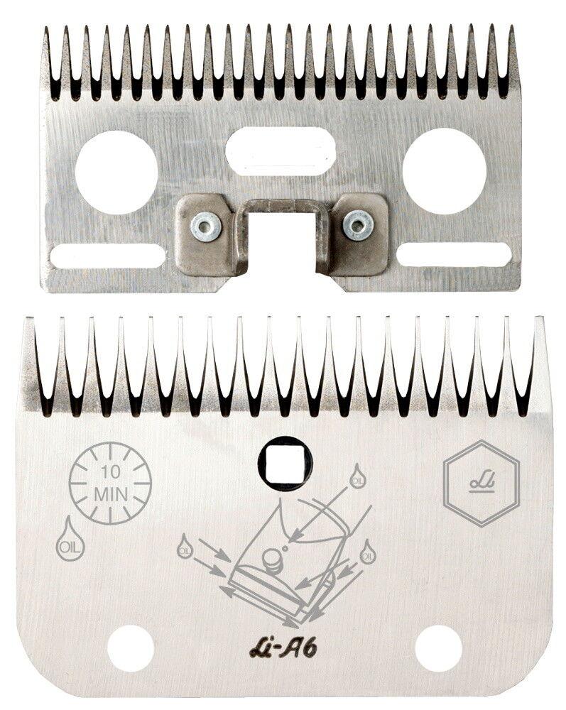 Lister Set Cutter li A6,24  18 Denti, Pulito, Leggero Sporco Bovini