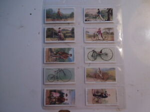 1939-CYCLING-bike-bicycle-Player-Cigarette-Tobacco-Cards-complete-set-of-50-Ex