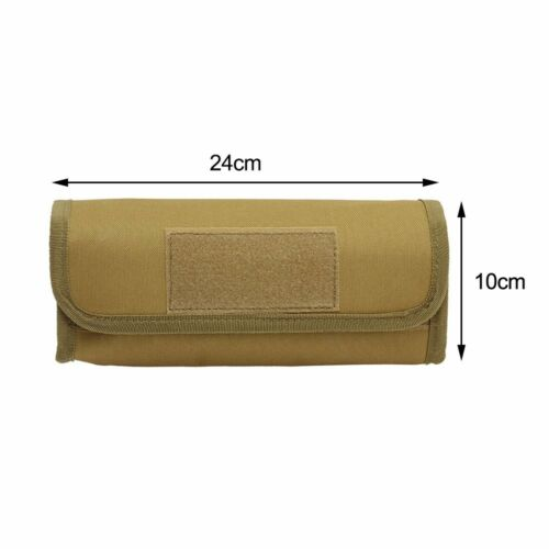 Tactical Molle Rifle Shotgun Shell Ammo Pouch 18 Round 12 GA Bullet Pouch Holder