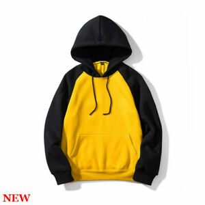 Sweatshirt-Workout-Hooded-Casual-Tops-Hoodie-Long-Sleeve-Mens-Sports-Pullover