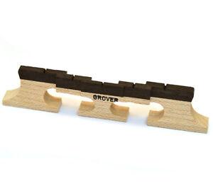 """Doux Grover Tune-kraft ™ Compensé 5-string Banjo Bridge 5/8"""" Tall Gb-77-afficher Le Titre D'origine Pour Aider à DigéRer Les Aliments Gras"""