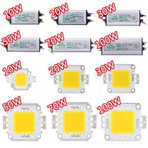 10w20w30w50w70w100w-LED-Driver-High-Power-Supply-Waterproof-LED-SMD-Chip-bulb