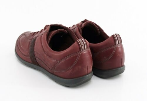 basse Scarpe Sneaker Rosso Echtleder Schnürer Ecco 39 Gr 4dTHSq1vTW