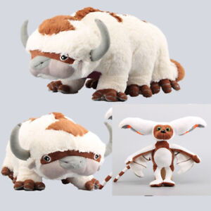 2pcs-Avatar-the-Last-Airbender-Appa-amp-Momo-Plush-Doll-Stuffed-Animal-Toys-Gift