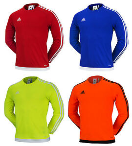 Details about Adidas Estro 15 LS Jersey AA3727 T Shirts Training Top Soccer Football