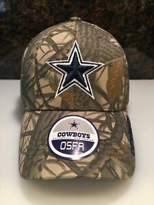 21eef6eb05b Image is loading Dallas-Cowboys-Authentic-Headwear-Hat-Cap-Realtree-Camo-