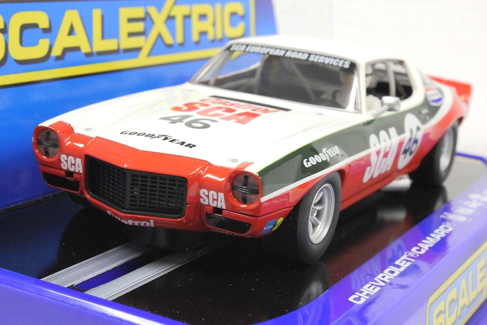 Scalextric C3316 1970 Chevrolet Camaro,  46 1 32 SLOT CAR  RMR