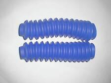 NEW WPS UNIVERSAL BLUE FORK BOOTS KAWASAKI KXT 250 TECATE 1986 1987 3 WHEELER