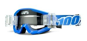 100-STRATA-SVS-CON-ROLL-OFF-rolloff-Thor-AZUL-LAGOON-Gafas-Mx-Motocross-Enduro