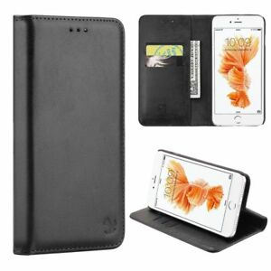 For-Apple-iPhone-Samsung-Leather-Flip-Wallet-Card-Slot-Case-Phone-Stand-Cover