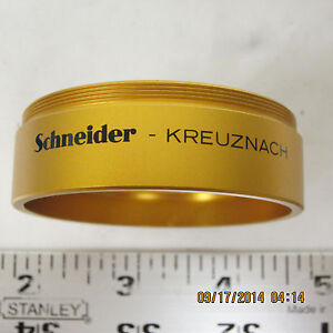 Schneider Lens Converter Adapter Collar 42.5mm ... 55mm NOS