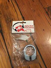 "NOS 1"" Blue DK Alpha BMX Freestyle Seat Post Clamp-25.4mm"