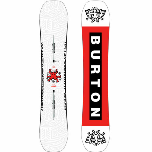 Burton Free Thinker Herren Snowboard All Mountain Freestyle Keith Haring 2020 NE