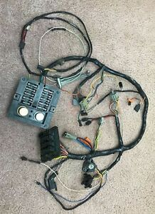 chargement de l'image 1978-dodge-d150-under-dash-wiring-harness-macho-