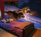 3D Snow Wolves 732 Wall Paper Wall Print Decal Wall Deco Indoor AJ Wall Paper