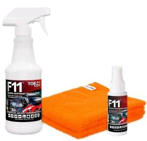 TOPCOAT F11 MASTER-CRAFTSMAN POLISH & SEALER: 16oz Bottle+2oz Bottle+2 Towels