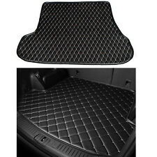 For Benz G550 2016  Leather Car Cargo Rear Trunk Mat Boot Liner Tray Carpet