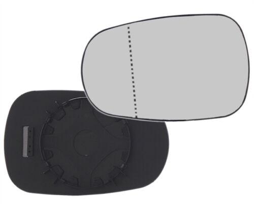 MIROIR GLACE RETROVISEUR RENAULT CLIO 2 98-05 AUTHENTIQUE DEGIVRANT AS GAUCHE