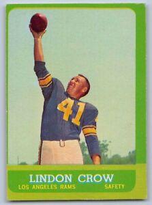 1963-LINDON-CROW-Topps-Football-Card-45-LOS-ANGELES-RAMS