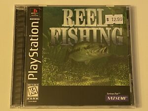 REEL-FISHING-PS1-PlayStation-1-PSX-GAME-COMPLETE-MINT-BLACK-LABEL