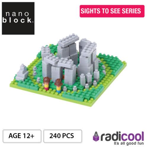 Sights to See Series NBH117 Nanoblock STONE HENGE 240 pcs 12 Ans