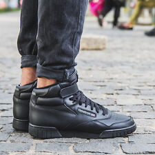 fbe7619b Reebok EX O Fit Hi Black 10.5 USA - Men's High Top Shoes 3478