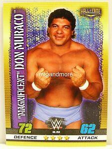 """Slam Attax - #253 """"magnificent"""" Don Muraco - 10th Edition-afficher le titre d`origine JKdtErST-09103241-340204812"""