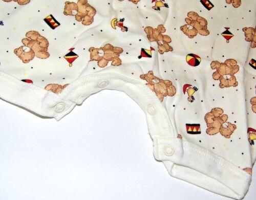Baby Romper; Nursery Time Newborn Playtime Teddy Baggy Romper 100/% Cotton