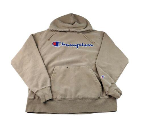 Champion Reverse Weave Sweatshirt Hoodie Size Larg