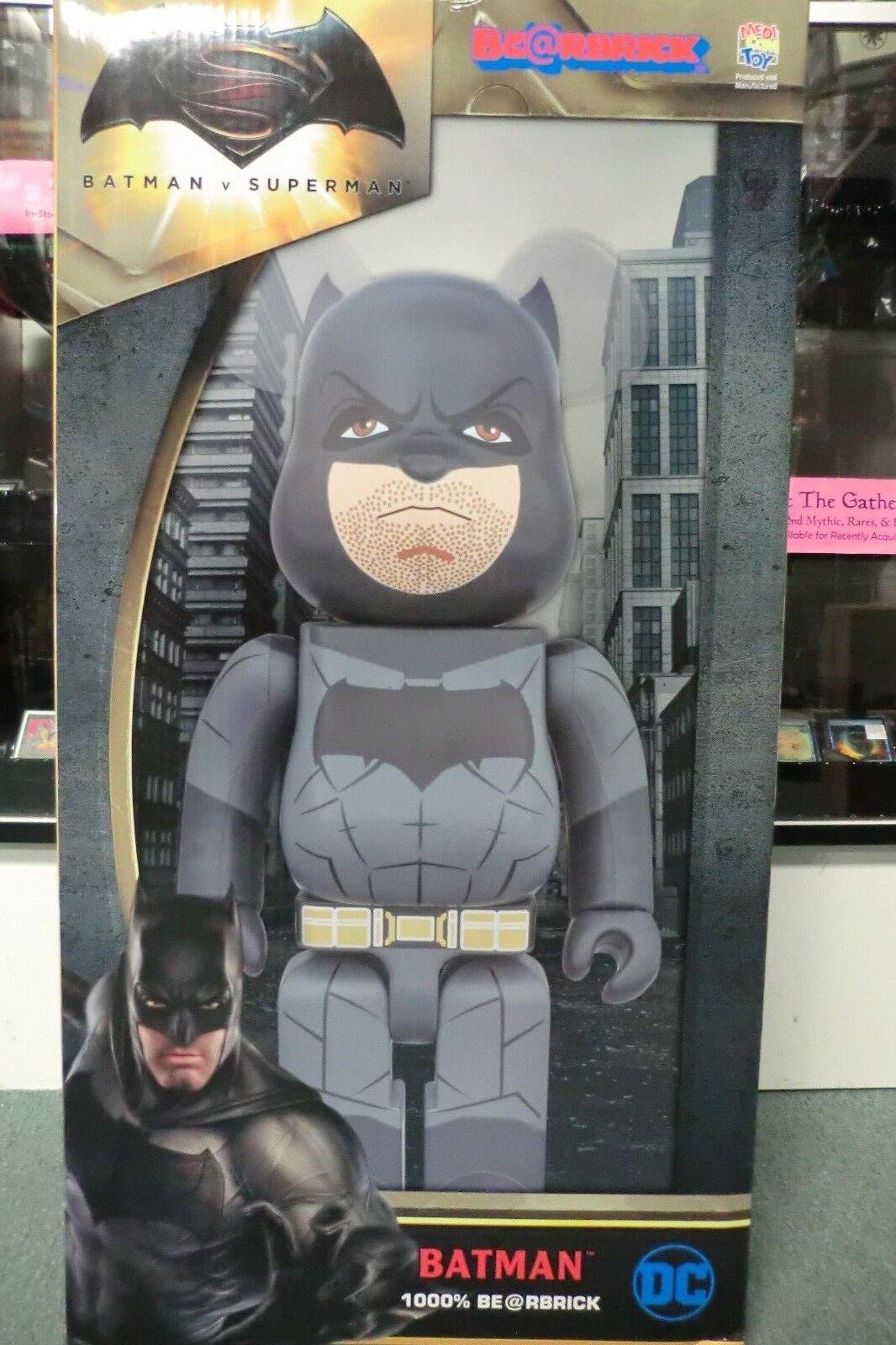 Medicom Batman Vs Superman BVS amanecer de la justicia Bearbrick 1000% Nuevo
