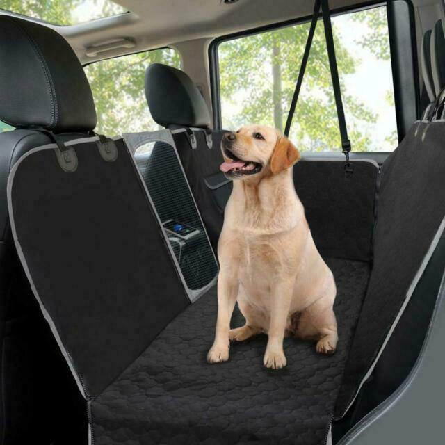 Siivton Car Seat Covers for Dogs 2 in 1 Dog Seat Cover Hammock for Back Or with