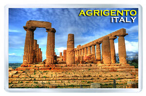 AGRIGENTO ITALY MOD2 FRIDGE MAGNET SOUVENIR IMAN NEVERA
