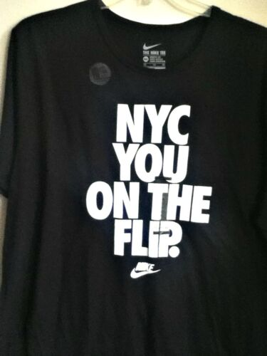 Nero Nike 010 Originale maglietta Drifit Bianca You Flip 747202 On Nyc The TH7xROw